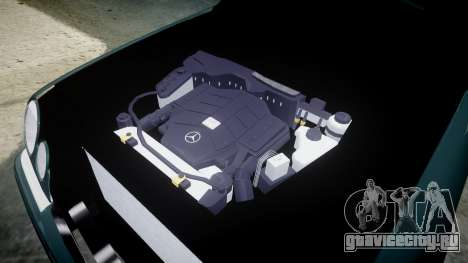 Mercedes-Benz W210 E55 2000 AMG для GTA 4 вид сзади