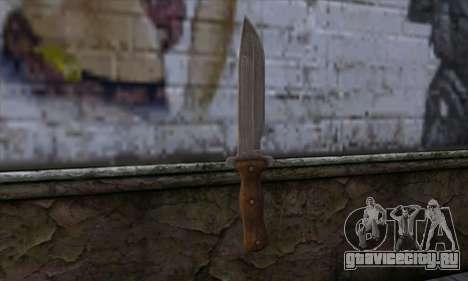 Daryl Knife from The Walking Dead для GTA San Andreas второй скриншот