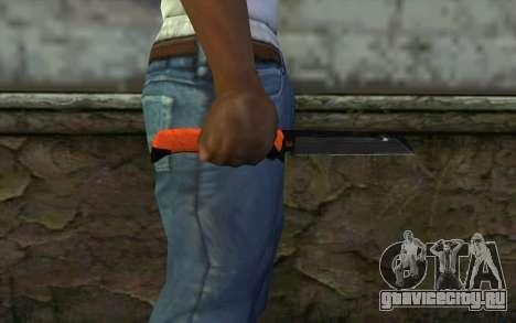 Knife from Battlefield 3 для GTA San Andreas третий скриншот