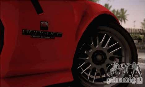GTA 5 Bravado Banshee для GTA San Andreas вид сзади слева