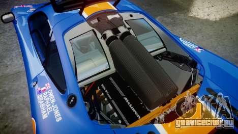 McLaren F1 1993 [EPM] Gulf 34 для GTA 4 вид сбоку