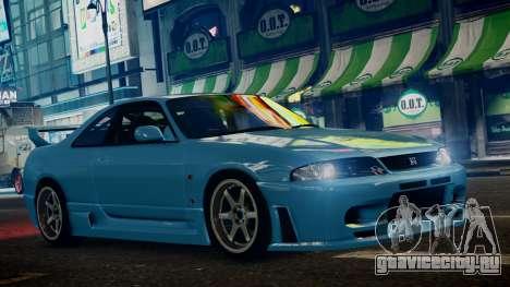 Nissan Skyline BCNR33 JUN VER для GTA 4