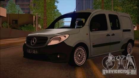 Mercedes-Benz Citan Stock 2013 для GTA San Andreas