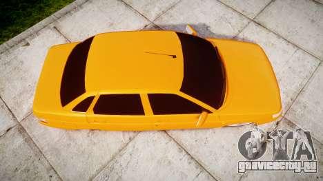 ВАЗ-2110 Bogdan rims1 для GTA 4 вид справа