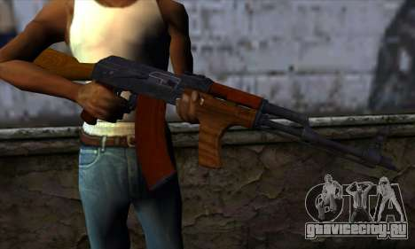 Romanian AKM для GTA San Andreas третий скриншот