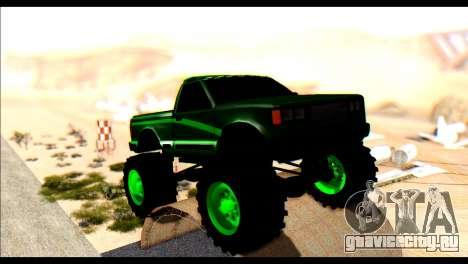 City Destroyer v2 для GTA San Andreas вид слева
