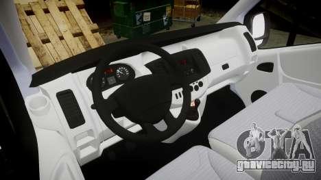 Renault Trafic II для GTA 4 вид сзади