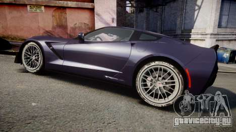 Chevrolet Corvette Z06 2015 TireMi4 для GTA 4 вид слева