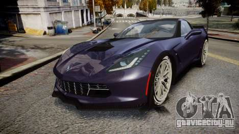 Chevrolet Corvette Z06 2015 TireMi4 для GTA 4