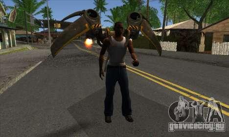 Jetpack from Batman Arkham Origins для GTA San Andreas третий скриншот