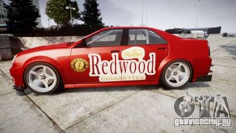 Albany Presidente Racer [retexture] Redwood для GTA 4 вид слева