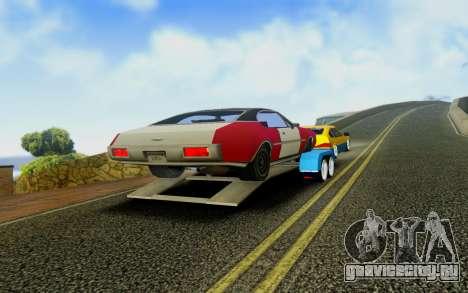 Trailer для GTA San Andreas вид сзади