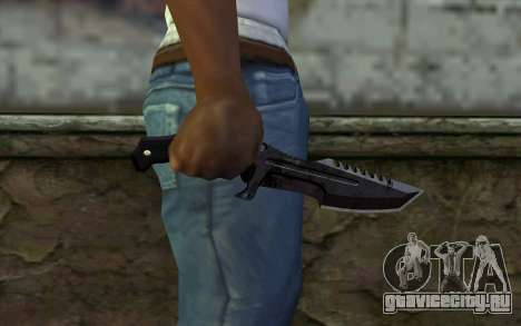 Knife from COD: Ghosts v2 для GTA San Andreas третий скриншот