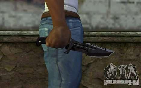 Knife from COD: Ghosts v2 для GTA San Andreas третий скриншот