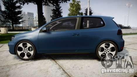 Volkswagen Golf GTI 2010 для GTA 4 вид слева