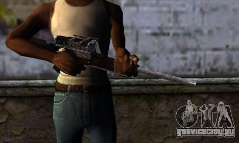 Calico M951S from Warface v1 для GTA San Andreas третий скриншот