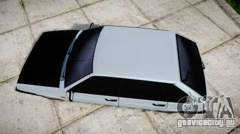 ВАЗ-2109 бродяга для GTA 4 вид справа