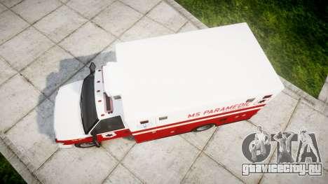 Brute V-240 Ambulance [ELS] для GTA 4 вид справа