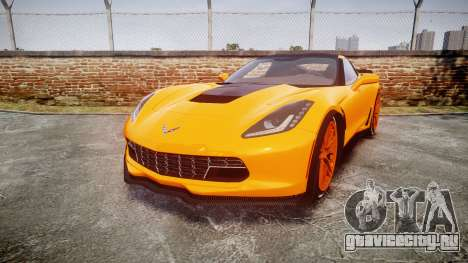 Chevrolet Corvette Z06 2015 TireBr1 для GTA 4