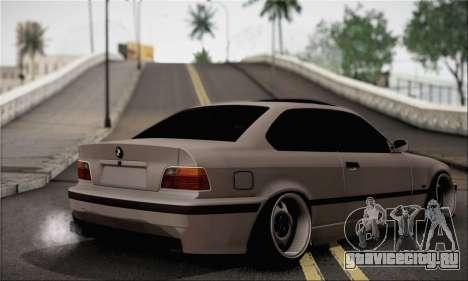 BMW M3 E36 Bosnia Stance для GTA San Andreas вид слева