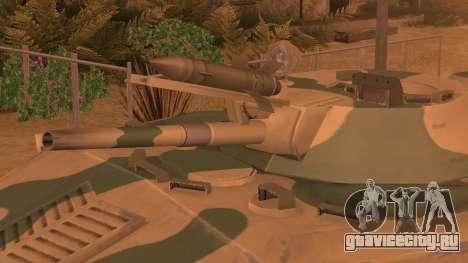 BMD-1 from ArmA Armed Assault Камуфляжный для GTA San Andreas вид сзади слева