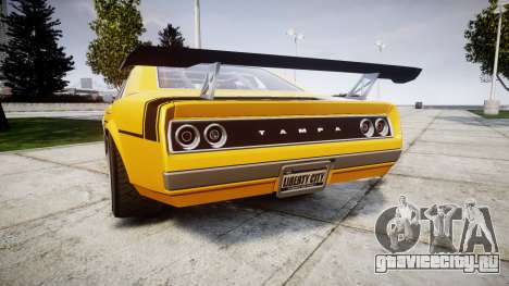 Declasse Tampa GT для GTA 4 вид сзади слева