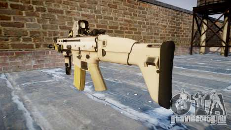 Автомат FN SCAR-L Mk 16 icon2 для GTA 4 второй скриншот