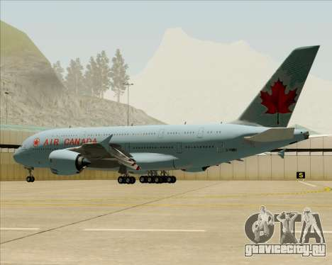 Airbus A380-800 Air Canada для GTA San Andreas