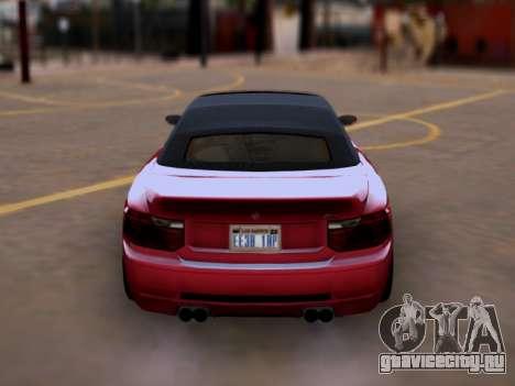 Übermacht Zion Cabrio GTA V для GTA San Andreas вид справа
