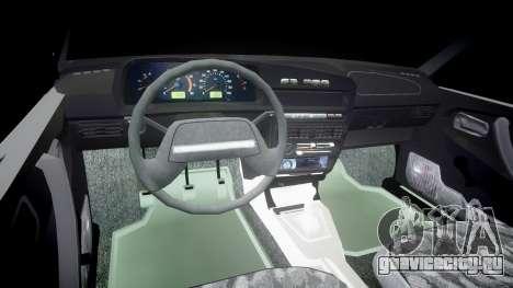 ВАЗ-2109 бродяга для GTA 4 вид сзади