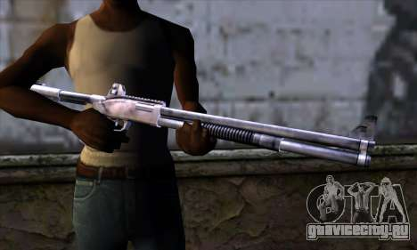 Chromegun Standart для GTA San Andreas третий скриншот