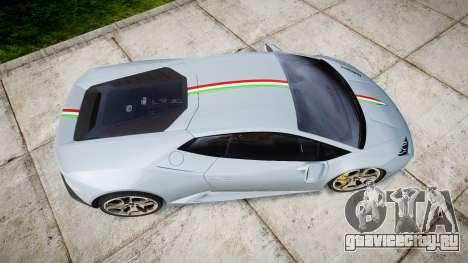 Lamborghini Huracan LP 610-4 2015 для GTA 4 вид справа