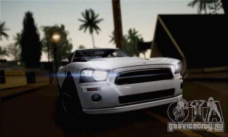 Bravado Buffalo 2nd Generation для GTA San Andreas вид сзади слева