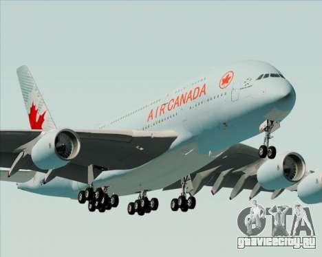 Airbus A380-800 Air Canada для GTA San Andreas двигатель