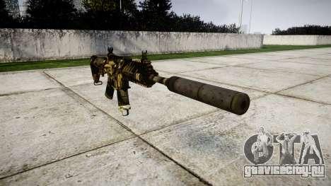 Автомат P416 silencer PJ2 для GTA 4