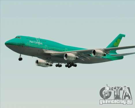 Boeing 747-400 Aer Lingus для GTA San Andreas вид сверху