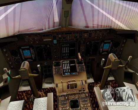 Boeing 747-400 Aer Lingus для GTA San Andreas салон