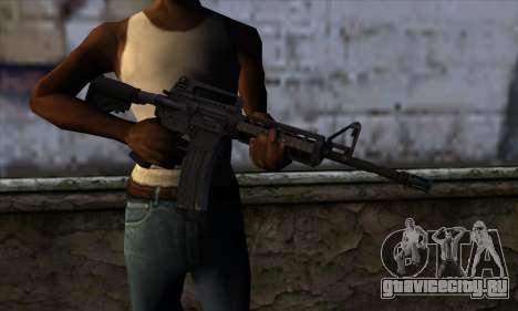M4A1 для GTA San Andreas третий скриншот