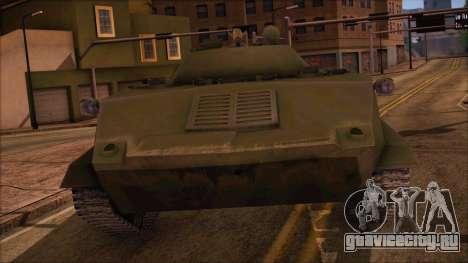 BMD-1 from ArmA Armed Assault Стандартный для GTA San Andreas вид сзади слева