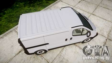 Renault Trafic II для GTA 4 вид справа