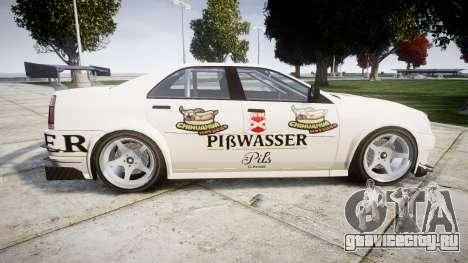 Albany Presidente Racer [retexture] Pibwasser для GTA 4 вид слева