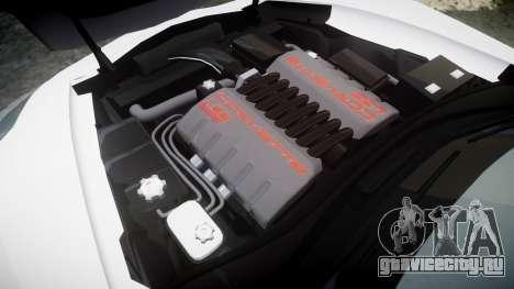Chevrolet Corvette Z06 2015 TireBr1 для GTA 4 вид сбоку