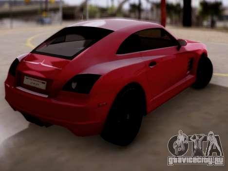 GTA 5 Fusilade для GTA San Andreas вид слева