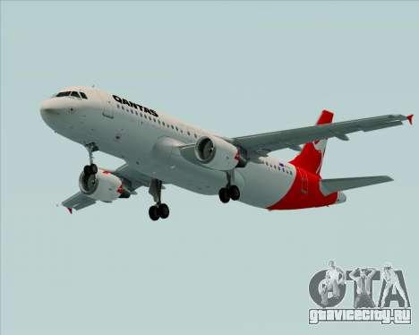 Airbus A320-200 Qantas для GTA San Andreas вид слева