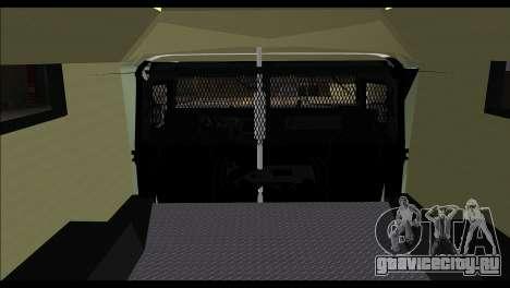 SWAT Enforcer для GTA San Andreas вид сзади слева