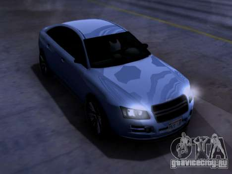 Obey Tailgater GTA V для GTA San Andreas