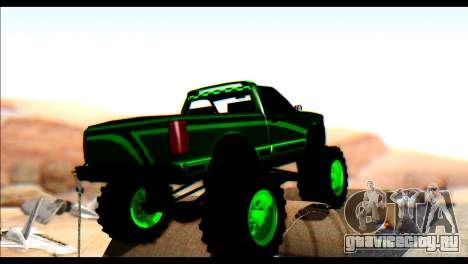 City Destroyer v2 для GTA San Andreas вид сзади слева