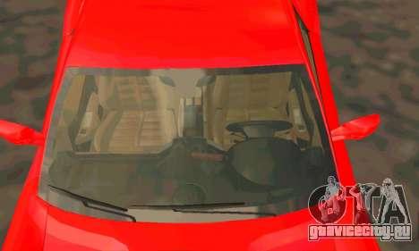 Ferrari 599 Beta v1.1 для GTA San Andreas вид сзади