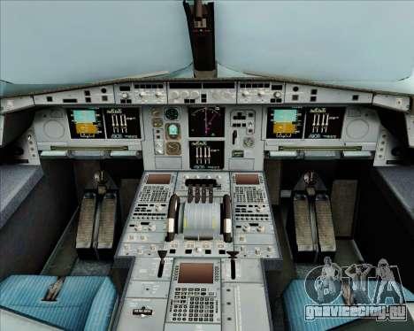 Airbus A380-800 Air Canada для GTA San Andreas салон