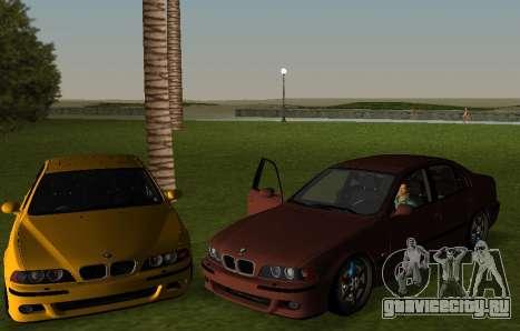 BMW M5 E39 для GTA Vice City вид слева